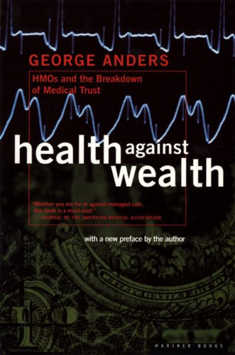 Health Against Wealth front-887545