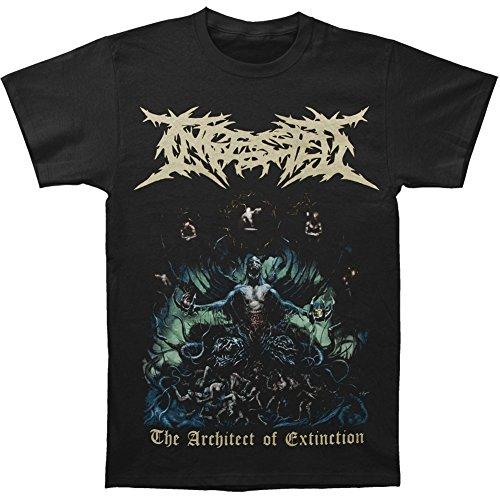 Greucy-darkIngested Men's The Architect Of Extinction T-shirt Black
