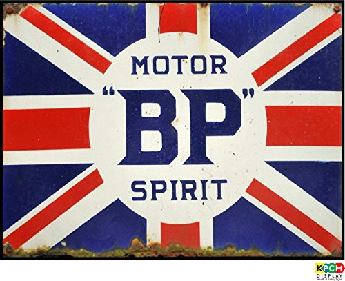 bp-motor-spirit-retro-sign-vintage-racing-car-garage-gb-self-adhesive-sticker-300mm-x-200mm