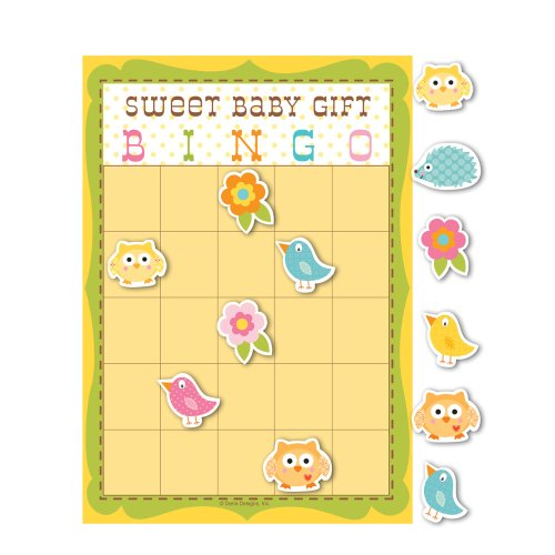 Creative Converting Baby Shower Happi Tree 10 Count Bingo Game
