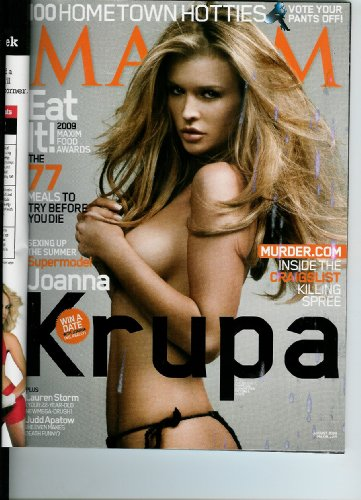 Maxim+Magazine+Joanna+Krupa+%23140+August+2009+%28Single+Issue%29