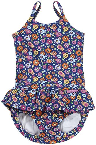 Jojo Maman Bebe Little Girls' Swim Bubble (Baby) - Meadow - 1-2 Years front-602048