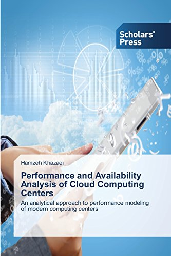 Performance and Availability Analysis of Cloud Computing Centers: An analytical approach to performance modeling of mode