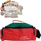 Lifeline 207-Piece Sports Medic First Aid Kit