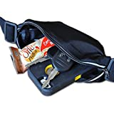 ABSOLUTE FITNESS Premium Water & Sweat Resistant Exercise Runners Belt With Expandable Storage Pocket Easy Access...
