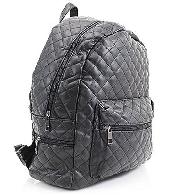 Ladies Girl's Backpack Rucksack School Bags Women's Qualtiy Fashion Faux Leather Handbag CWS00186 CWS00186A