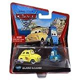 Disney / Pixar CARS 2 Movie 155 Die Cast Car #10 11 Guido Luigi