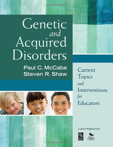 Genetic And Acquired Disorders: Current Topics And Interventions For Educators front-867019