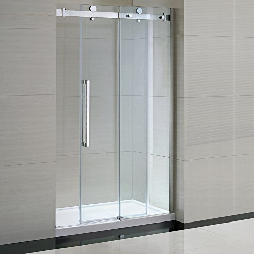 Ove Sierra Tempered Clear Glass Shower Kit With Glass