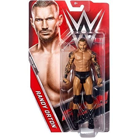 WWE Séries Basiques 75 Wrestling Figurine D'Action - Randy Orton ' La Vipère' RAW Carte