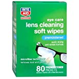 Rite Aid Lens Cleaning Premoistened Soft Wipes 80ct