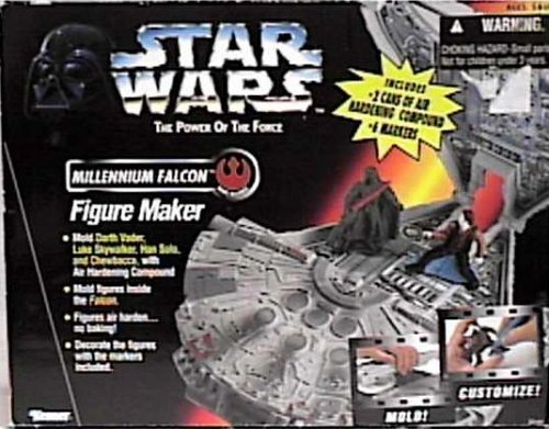 Buy Low Price Kenner Star Wars Power of the Force Millennium Falcon Figure Maker By Kenner (B000AMPR10)