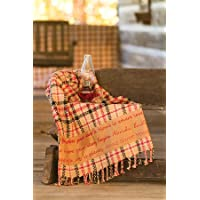 Homestead Appliqu? Woven Throw