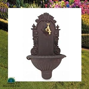 nostalgie waschbecken mit hahn wasserbecken wandbrunnen. Black Bedroom Furniture Sets. Home Design Ideas