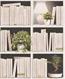 UGEPA Vliestapete Bücherregal, mehrfarbig, J79307