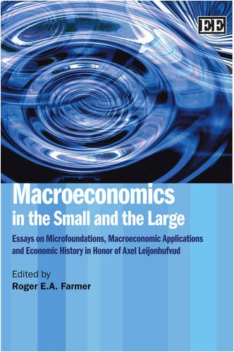 Macroeconomics in the Small and the Large: Essays on Microfoundations, Marcoeconomic Applications and Economic History i