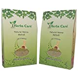 Herbs Care Natural Henna Mehndi - 200 Gm, (Pack Of 2)