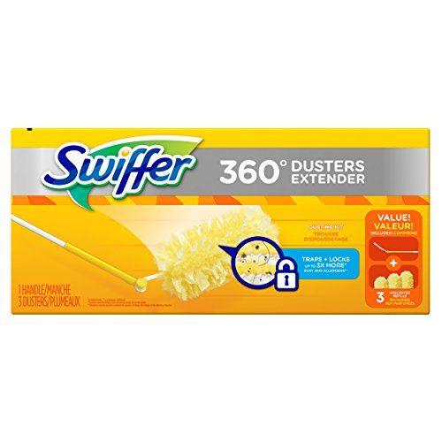Swiffer 360 Dusters Extendable Handle Starter Kit 3 Count (Starter Star Shorts compare prices)