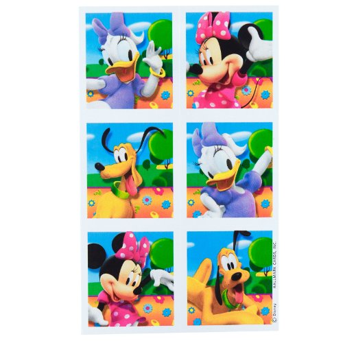 Minnie Mouse Sticker Sheets (4 count)