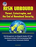 This excellent report has been professionally converted for accurate flowing-text e-book format reproduction. Threat and catastrophe highlight the impossibility of providing perfect security, and demonstrate the limitations of risk-based security pra...
