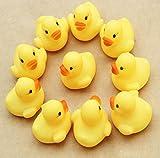 Doinshop Brand NEW One Dozen 12 Rubber Duck Ducky Duckie Baby Shower Birthday Party Favors