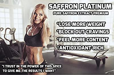 Best Saffron Extract Premium | Recommended Appetite Suppressant for Weight Loss | Supports Quicker Weight Loss | Full of Antioxidants | Mood Booster | Digestive Support | Pure and Natural | Safe and Effective | For Men and Women | Made in USA | GMP