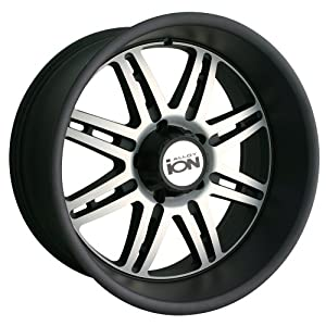 Ion Alloy 183 Matte Black Wheel with Machined Face (20x9