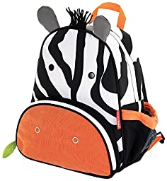 Skip Hop Zoo Pack Little Kid & Toddler Backpack, Zax Zebra