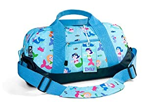 Olive Kids Mermaids Duffel Bag- Free Name Tag by Olive Kids
