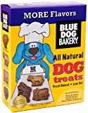 Blue Dog Bakery Natural Low Fat Dog Treats, Assorted Flavors, 20-Ounce Boxes (Pack of 6)[Amazon Frustration-Free Packaging]