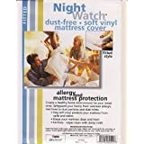 Night Watch Mattress Fitted Cover - Twin Size