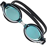 JNW Direct Premium Comfort Swim Goggles for Men, Women & Kids, Best Anti Fog + UV Protection, Waterproof and No Leak Adult Swimming Goggle Set, Includes BONUS Case and 3 Adjustable Nose Bridges