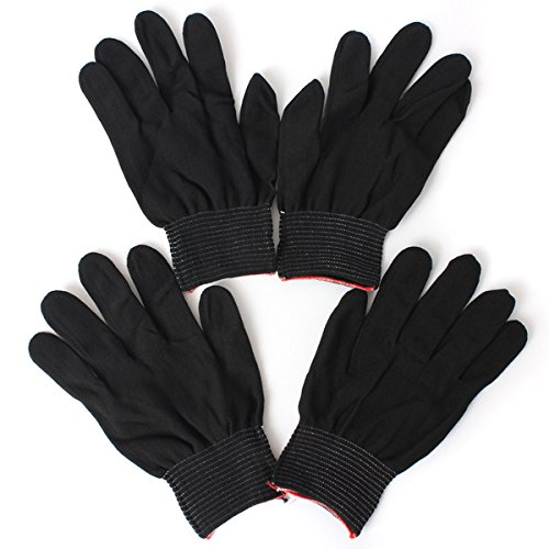 2-pairs-antistatic-nylon-work-glove-grip-durable-knit-working-safety-gloves