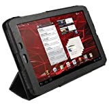 IGadgitz Black PU Leather Case Cover for Motorola Xoom 2 Media Edition Droid Xyboard 8.2