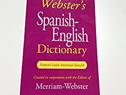 Webster\'s Spanish-English Dictionary (Paperback 2014)