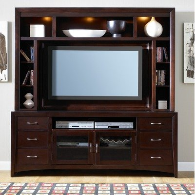 Cheap Entertainment TV Stand by Liberty – Merlot Finish (940-TV00) (940-TV00)