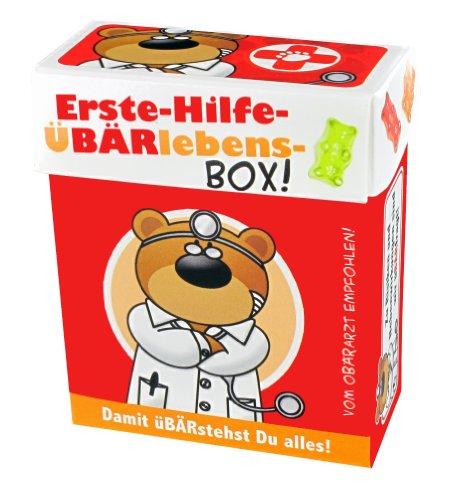 BärenBande Gummibärchen Süsse BÄRgleiter Erste-Hilfe-ÜBÄRlebens-Box