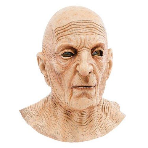 Adult Full Over Head Bald Wrinkly Old Man 70s 80s 90s Fancy Dress Costume Mask - UK FREEPOST from STAR 55 LTD