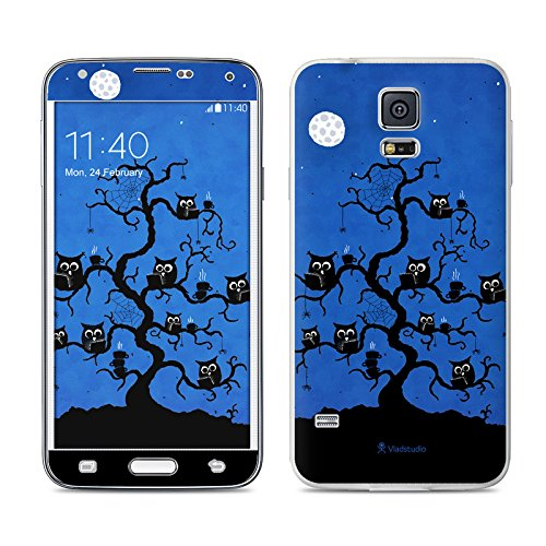 Internet Cafe Design Protective Decal Skin Sticker For Samsung Galaxy S5 Sm-G900 Smartphone (High Gloss)