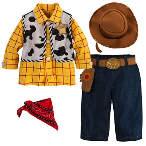 Disney Deluxe Toy Story Woody Costume For Baby Boys Toddlers (12-18 Months) front-833688