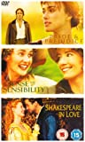 Pride and Prejudice / Sense and Sensibility / Shakespeare in Love [DVD]