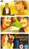 Pride and Prejudice / Sense and Sensibility / Shakespeare in Love [DVD]