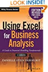 Using Excel for Business Analysis A G...