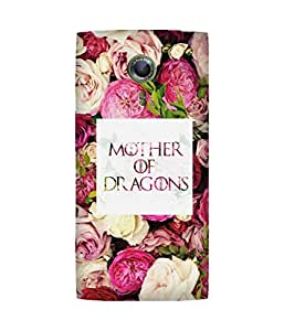 Mother of Dragon Alcatel One Touch Flash 2 Case
