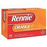 Rennie Orange Flavour x48