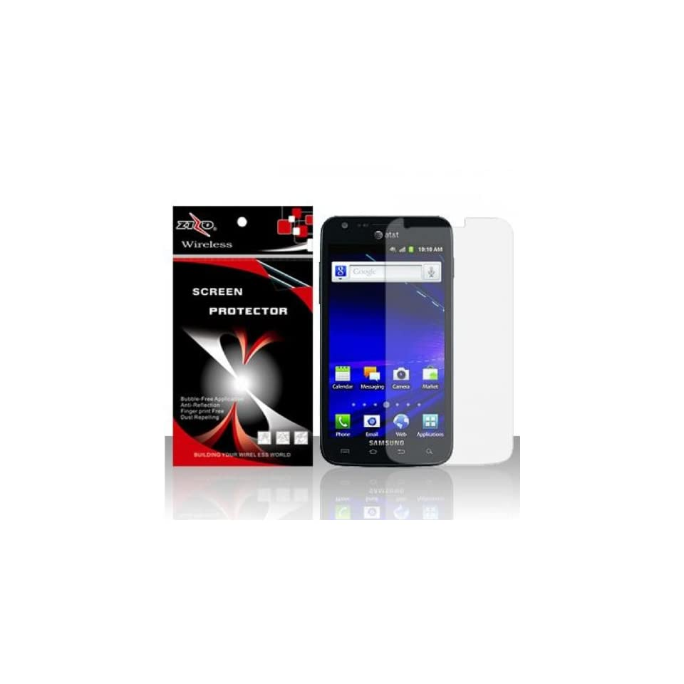 For Samsung Galaxy S II Skyrocket i727   Anti Glare Screen Protector Cell Phones & Accessories