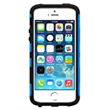 Trident Blue/ Black Aegis Series Hard Cover Over Silicone Skin Case w/ Screen Protector for Apple iPhone 5/5S - AG-APL-IPH5S2US-BLU