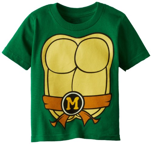 Teenage Mutant Ninja Turtles Little Boys' Crew-Neck Costume T-Shirt