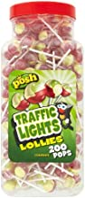 POSH Traffic Light Lollies 200 pops per jar