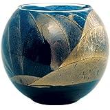 Northern Lights Candles Esque Polished Globe, 4 -Inch, Cobalt